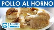 Receta de pollo al horno fácil y casera | QueApetito