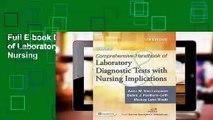 Full E-book Davis's Comprehensive Handbook of Laboratory & Diagnostic Tests with Nursing
