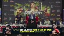 GENNADY GOLOVKIN v STEVE ROLLS - *FULL & UNCUT* PRESS CONFERENCE / JUNE 8th @ MSG, NEW YORK
