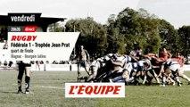 Quart de finale aller Blagnac vs Bourgoin, bande-annonce - RUGBY - FÉDÉRALE 1