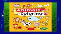 [GIFT IDEAS] Coloring Books for Kids   Toddlers: Animals Coloring: Children Activity Books for