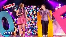 The Lumineers – Ho Hey   Louane & Loïs Silvin   The Voice France 2013   Demi-Finale