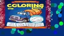 [MOST WISHED]  Trucks, Planes and Cars Coloring Book: Cars coloring book for kids   toddlers -