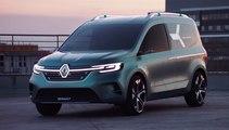 VÍDEO: Renault KANGOO Z.E. Concept, así se imagina la futura furgoneta