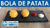 Bola de patata rellena de carne fácil y casera | QueApetito