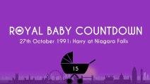 Royal Baby Countdown: Prince Harry visits Niagara Falls