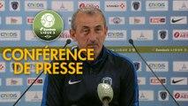 Conférence de presse Paris FC - Valenciennes FC (0-0) : Mecha BAZDAREVIC (PFC) - Réginald RAY (VAFC) - 2018/2019