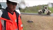 Oyonnax : la RD113 en travaux entre Veyziat et Chatonnax