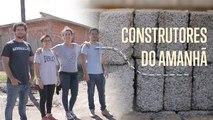 Estes tijolos feitos de plástico unem as comunidades
