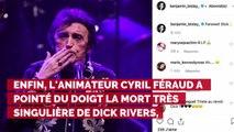 Mort de Dick Rivers : Laurence Boccolini, Cyril Féraud, Jean-Pierre Foucault... Les stars de la télé lui rendent hommage
