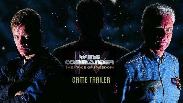 Wing Commander 4 Game Trailer