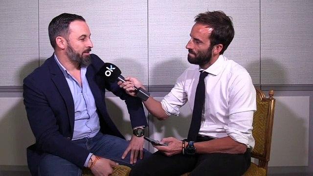 Entrevista de Álvaro Ojeda a Santiago Abascal.
