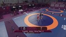Iran continue dominance at Asian Wrestling Championships