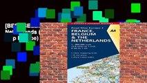 [BEST SELLING]  AA Road Map France, Belgium, Netherlands (Road Map Europe) (AA Road Map Europe) by