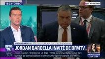 """Jordan Bardella sur les Républicains: """"C'est un peu notre contrefaçon"""""""
