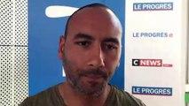 Tirage Coupe du Rhône – Hani EL GASMI (ES Genas) réagit après le tirage des QUARTS