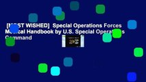 [MOST WISHED]  Special Operations Forces Medical Handbook by U.S. Special Operations Command