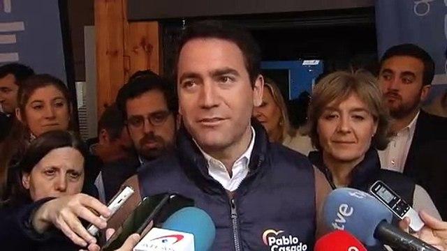 """García Egea sobre el fichaje de Garrido: """"¿Hay alguien de C's en las listas de C's?"""""""