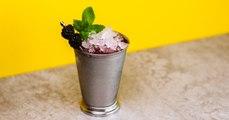 Blackberry Mint Julep Margarita Cocktail Recipe - Liquor.com