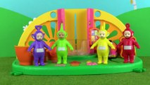 Teletubbies: Teletubbies Have A Race   Toy Play Video   Play games with Teletubbies