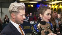 Zac Efron & Lily Collins talk new Ted Bundy biopic!