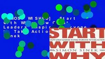 [MOST WISHED]  Start with Why: How Great Leaders Inspire Everyone to Take Action by Simon Sinek