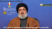 Hassan Nasrallah on US sanctions against Iran: Trump Wages Economic War on the Whole World