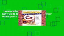 Homeopathic Remedies: A Quick and Easy Guide to Common Disoders and Their Homeopathic