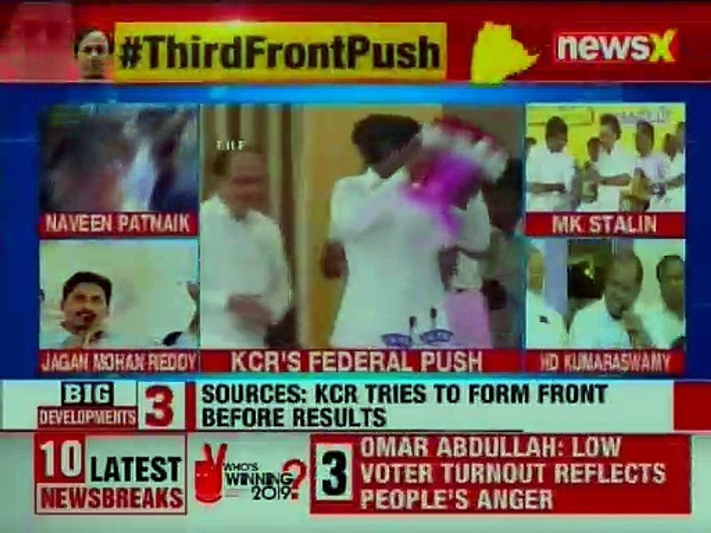 KCR to Set out to Form Third Front; to meet Opposition Leaders, Sources