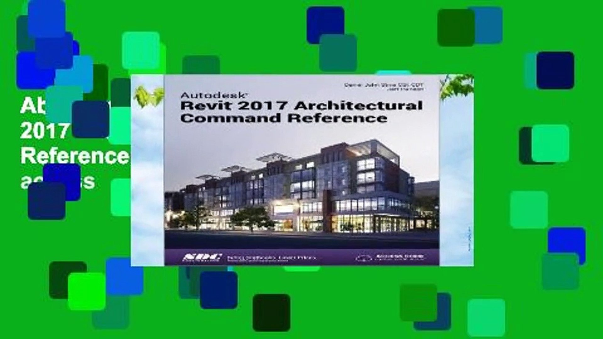 About For Books Autodesk Revit 2017 Architectural Command
