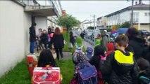 Villerupt : blocage de l'école Joliot Curie par les parents d'élèves contre la loi Blanquer