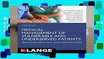 Medical Management of Vulnerable and Underserved Patients: Principles, Practice, Populations,
