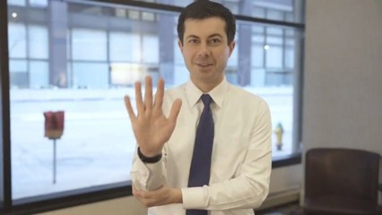 Pete Buttigieg Shows Appreciation To Deaf Activist For His Support