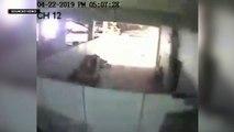 WATCH CCTV captures scene inside Chuzon Supermarket during quake