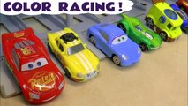 Hot Wheels Racing Learn Colors & Learn English with DC Comics Justice League & Marvel Avengers 4 Endgame vs Disney Pixar Cars 3 Lightning McQueen in this family friendly full episode
