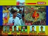 Varanasi people reacts on PM Narendra Modi roadshow, public chants Modi-Modi slogan   Elections 2019