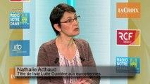 """Nathalie Arthaud : les travailleurs doivent travailler moins et gagner plus"""""""