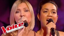 Lara Fabian – Tout | Alexia Rabé VS Julie Erikssen | The Voice France 2014 | Battle