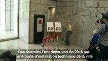 Authentique ou pas, un rat attribué à Banksy est exposé à Tokyo