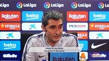 Football | Liga : Les réactions de Ernesto Valverde entraîneur du fc Barcelone