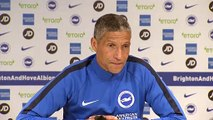 Chris Hughton on Brighton's crucial EPL game against Newcastle Utd in relegation fight