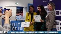 """""""Make The Choice"""" : 100 jeunes qui rêvent d'entrepreneuriat"""