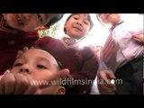 Little mizo kids - funny people!!