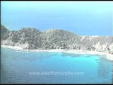 Exquisite aerial view of the Andamans and Nicobar