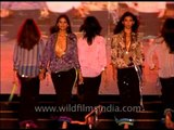 Walk the walk! Bold and stunning Indian models in Delhi