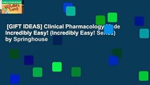 [GIFT IDEAS] Clinical Pharmacology Made Incredibly Easy! (Incredibly Easy! Series) by Springhouse