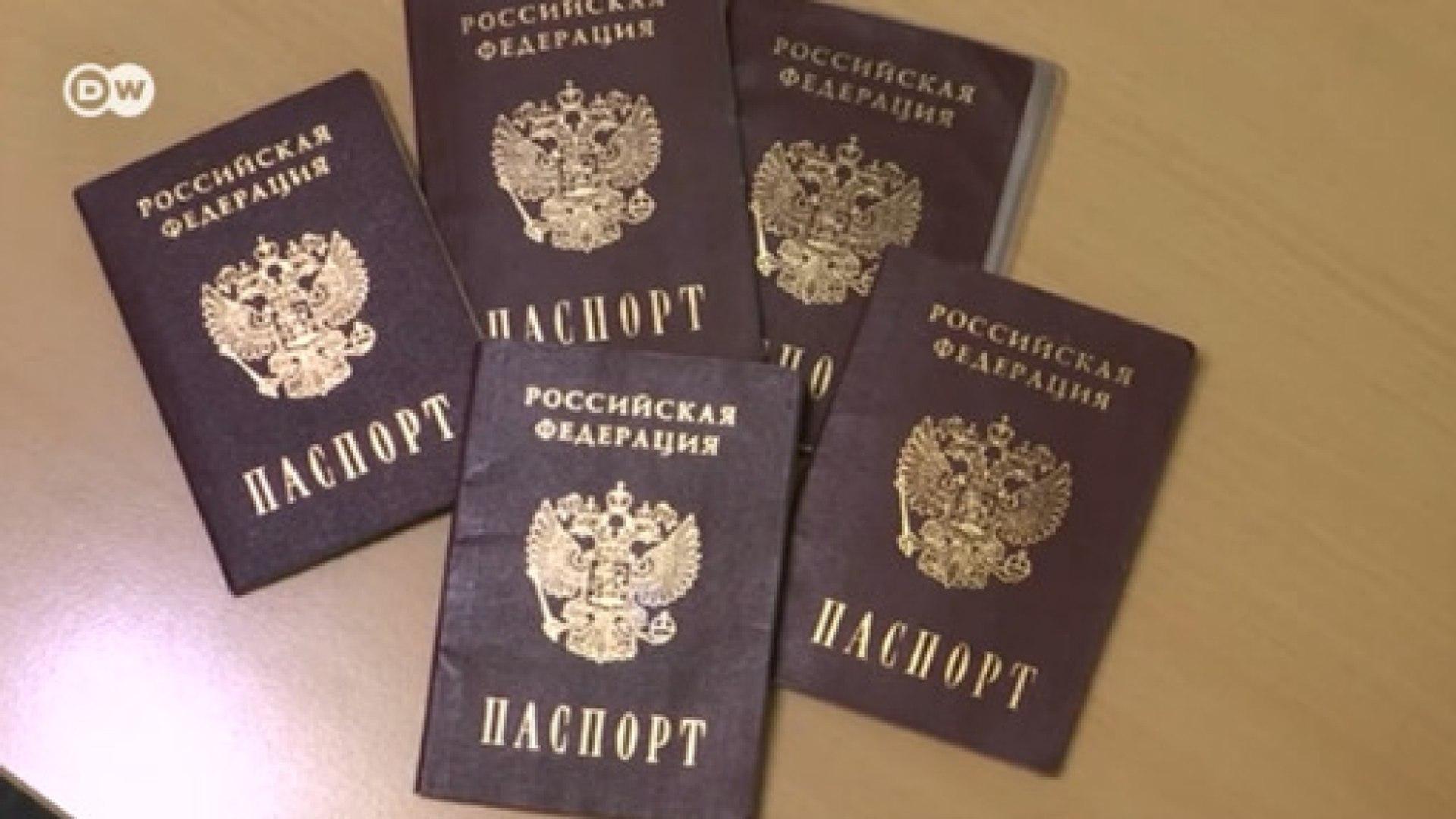 Зачем Москве нужен указ о российских паспортах в Донбассе (25.04.2019)