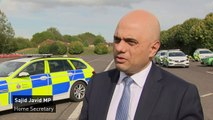 Sajid Javid 'very concerned' over rise in serious violence