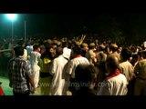 Dussehra crowd controlled by Delhi police - Ram Lila Maidan