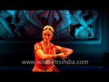 Silvia Rissi - Indian classical dancer from Argentina performs Bharatnatyam